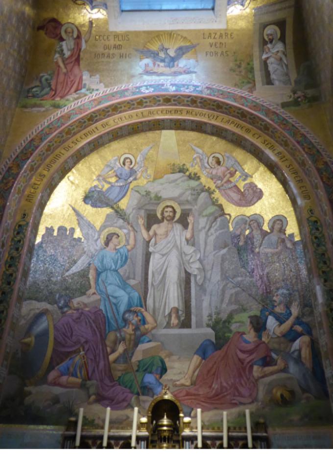 Le Rosaire ………........La Résurrection