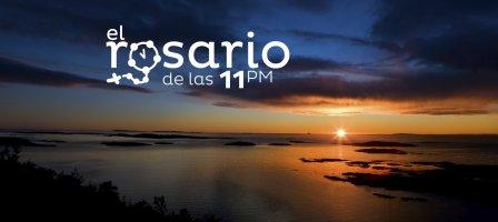 A las 11 pm (España) rezamos el Santo Rosario por Youtube