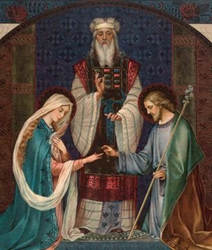 Saint Joseph, époux de la plus pure des Vierges, priez pour nous