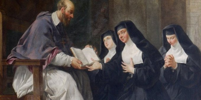 Monastères De La Visitation Sainte Marie et la Garde d'Honneur du Sacré-Coeur