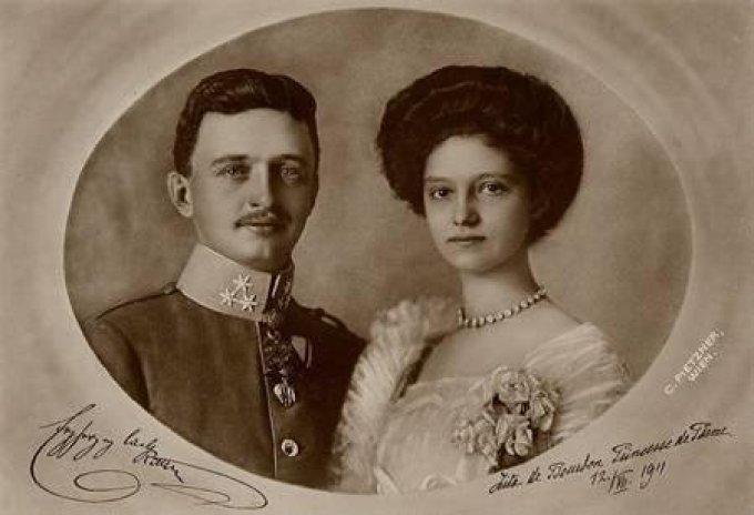 Comme Charles et Zita ... pour la Saint-Valentin ...
