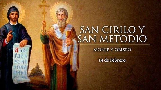 Fiesta de dos grandes misioneros: Cirilo y Metodio
