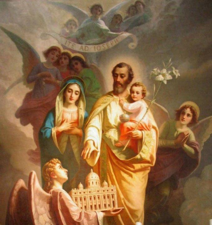Les Saintes Plaies et La Sainte Eglise