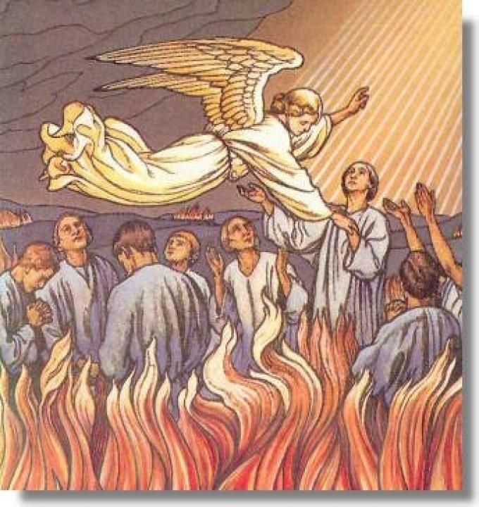 Prière de tous les jours pour les Âmes du Purgatoire