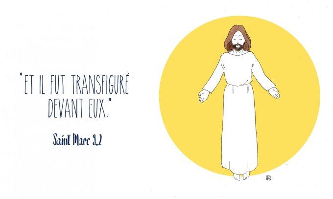 Et il fut transfiguré devant eux