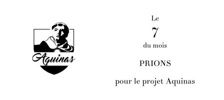 Prions pour le projet Aquinas