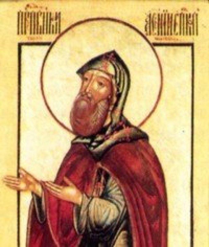 Le 2 mars : Saint Arsène de Tver