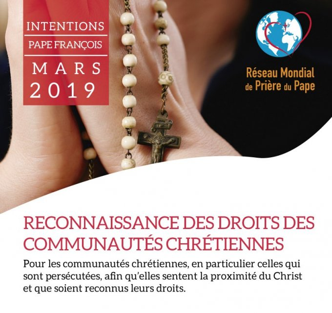 Nous prions ce mois ci pour le respect des droits des communautés chrétiennes