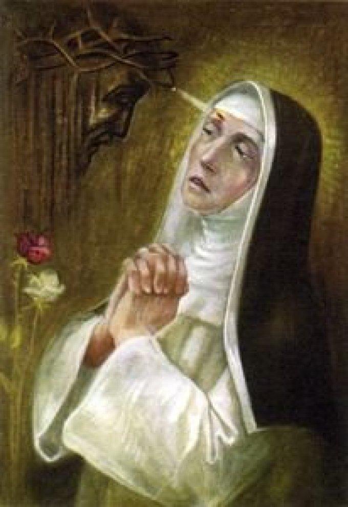 Sainte Rita, accompagne-nous durant ce temps de Carême