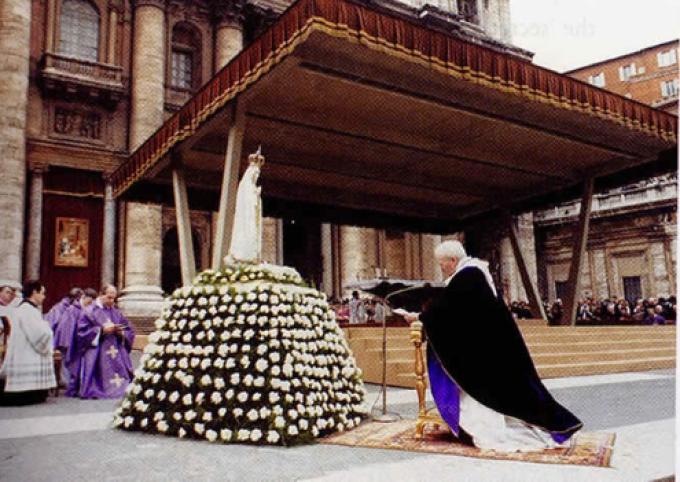 Fête de l'Annonciation: Il y a 35 ans, la consécration du pape Jean Paul II