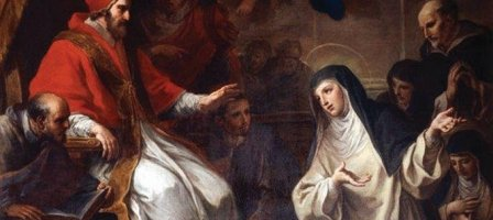 Pensamentos de Santa Catarina de Siena