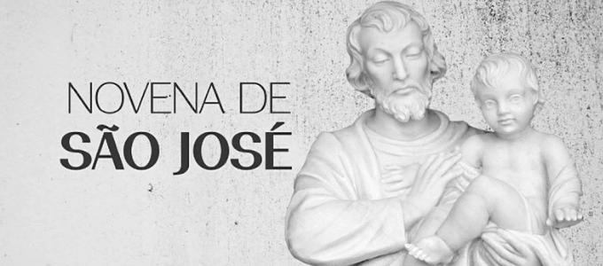 1º  Dia da Novena: São José, pai nutrício de Jesus