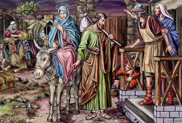 75221-j-9---24-decembre---saint-joseph-se-rend-a-bethleem-avec-sa-sainte-epouse
