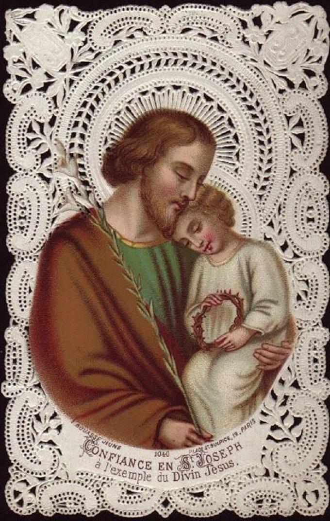 Saint Joseph, ardent en charité, priez pour nous