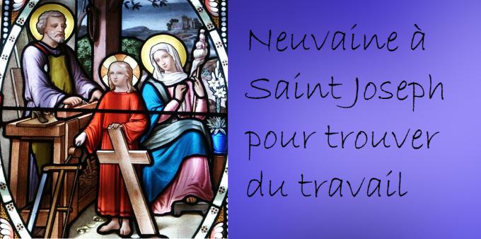 1er Jour : St Joseph, mémoire du Père