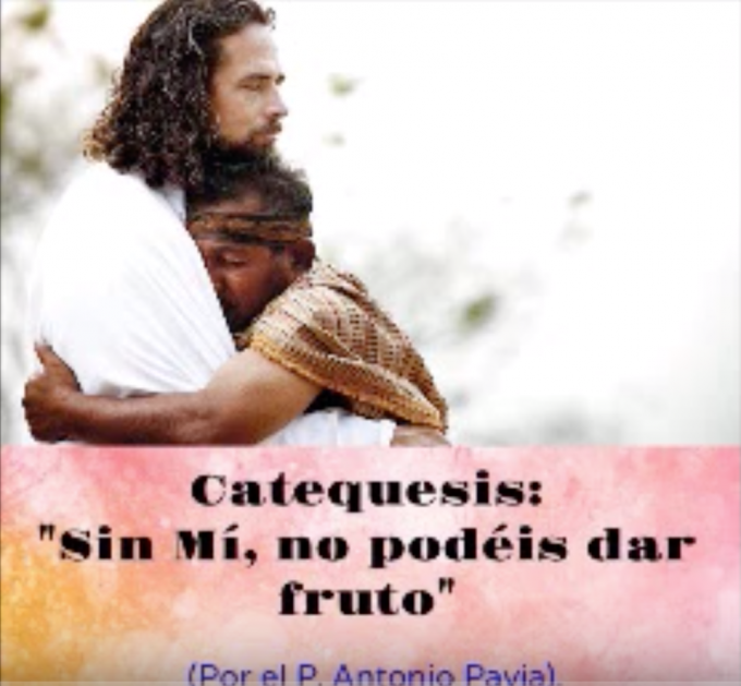 "Catequesis ""SIN MÍ, NO PODEIS DAR FRUTO"""