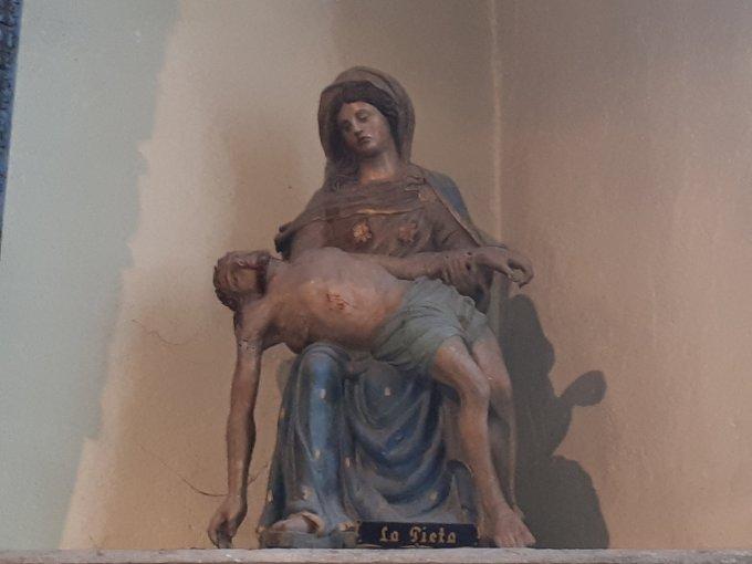 Le Christ envoie Sa Mère au devant de Lui