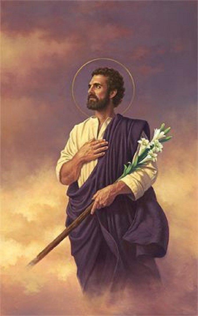 Saint Joseph, homme selon le cœur de Dieu, priez pour nous