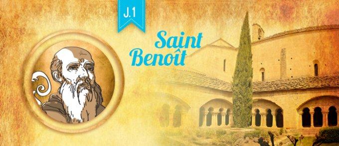 Jour 1 - Découvrir saint Benoît, l'absolu de Dieu