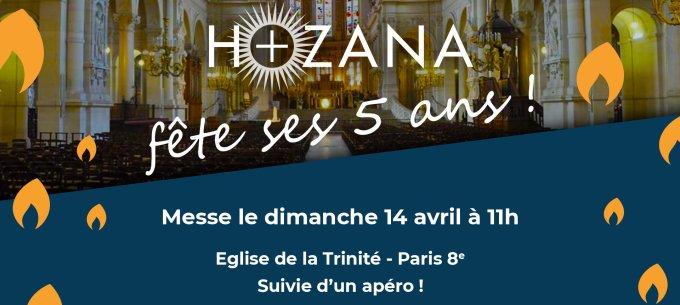 En union de prière pour les 5 ans d'Hozana !