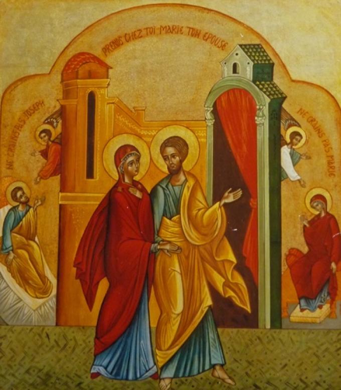 Saint Joseph, très chaste, priez pour nous