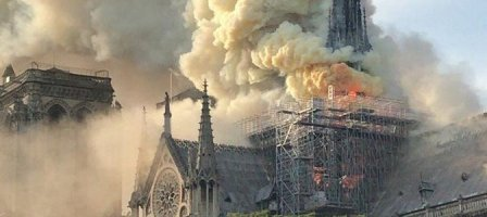 Notre Dame de Paris, Pray for us!