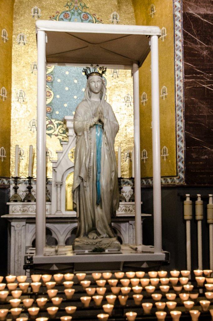 Jour 1 - à Notre Dame de Lourdes