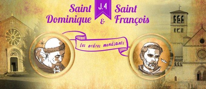 Jour 4 - Découvrir saint Dominique et saint François d'Assise