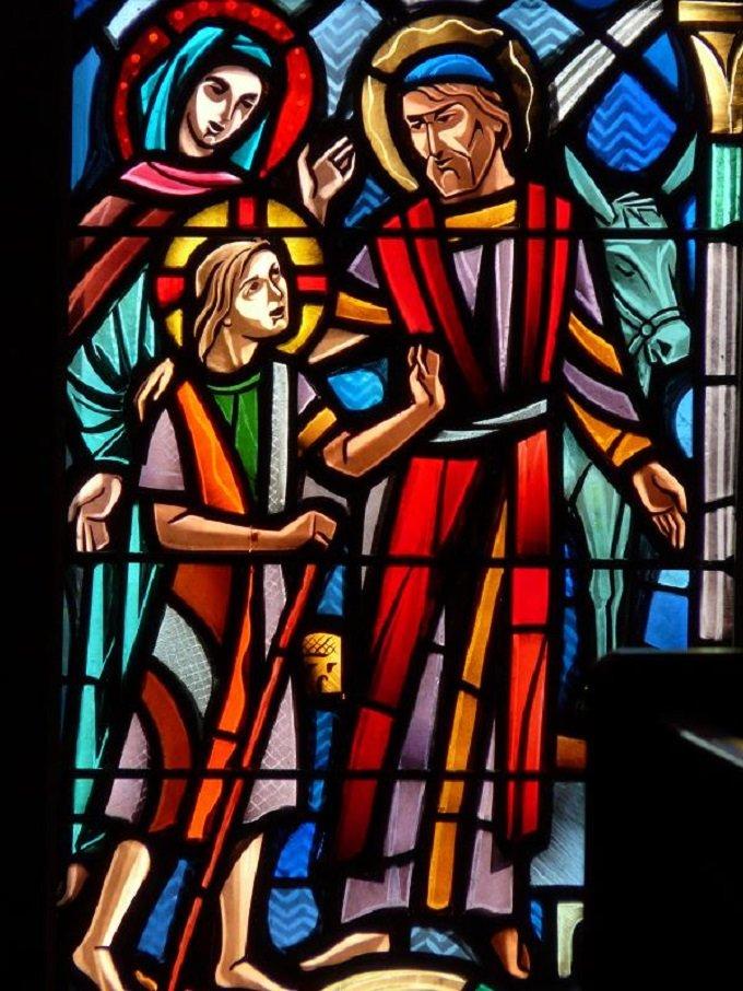 Saint Joseph, colonne des familles, priez pour nous