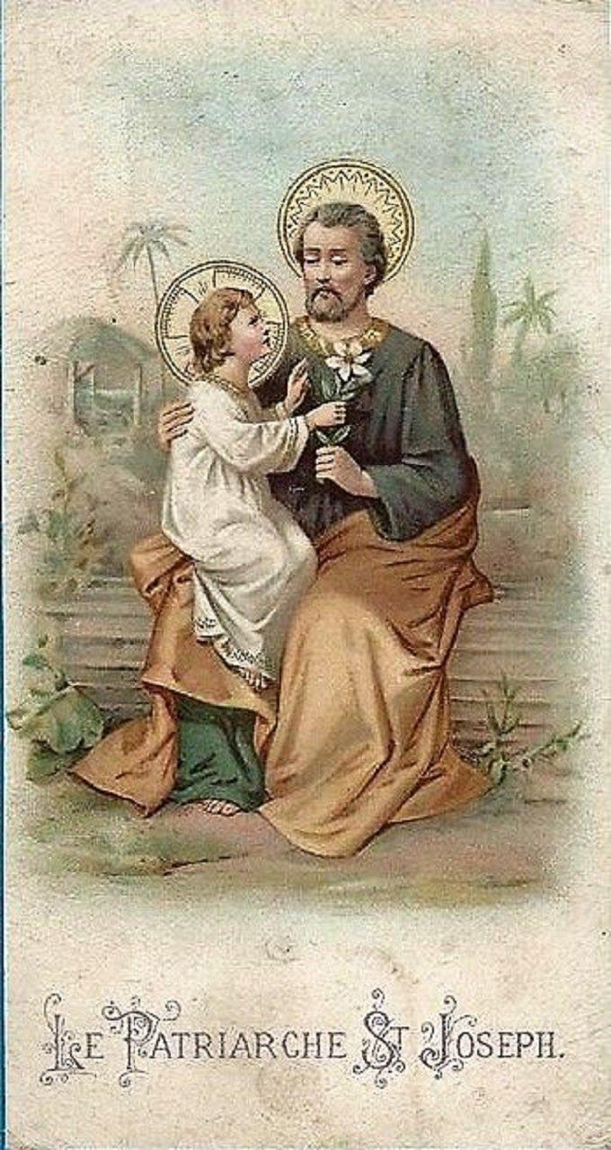 Saint Joseph, le plus illustre des Patriarches, priez pour nous