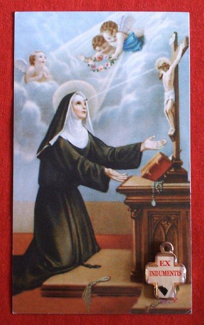 J 3 - Sainte Rita, martyre de pénitence, priez pour nous !