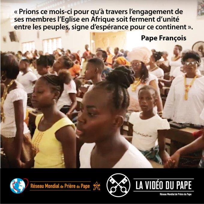 l'Eglise en Afrique  ferment d'unité