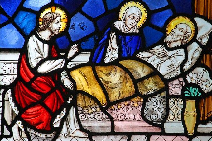Saint Joseph, notre protecteur à l'heure de la mort, priez pour nous