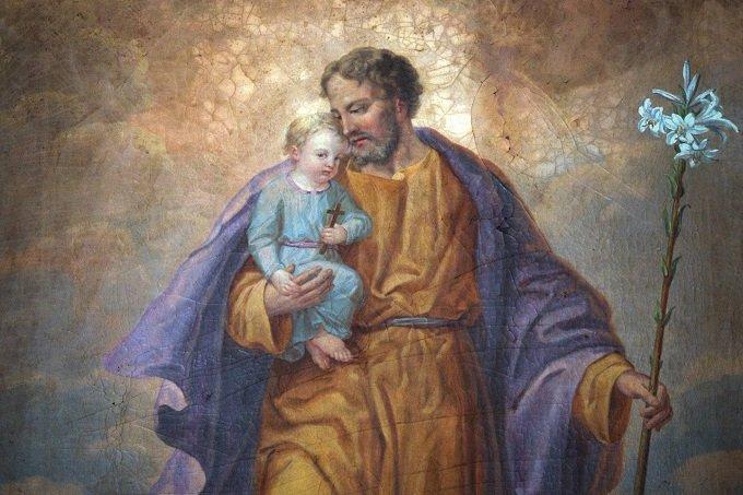 Saint Joseph, nourricier très fidèle de Jésus-Christ, priez pour nous