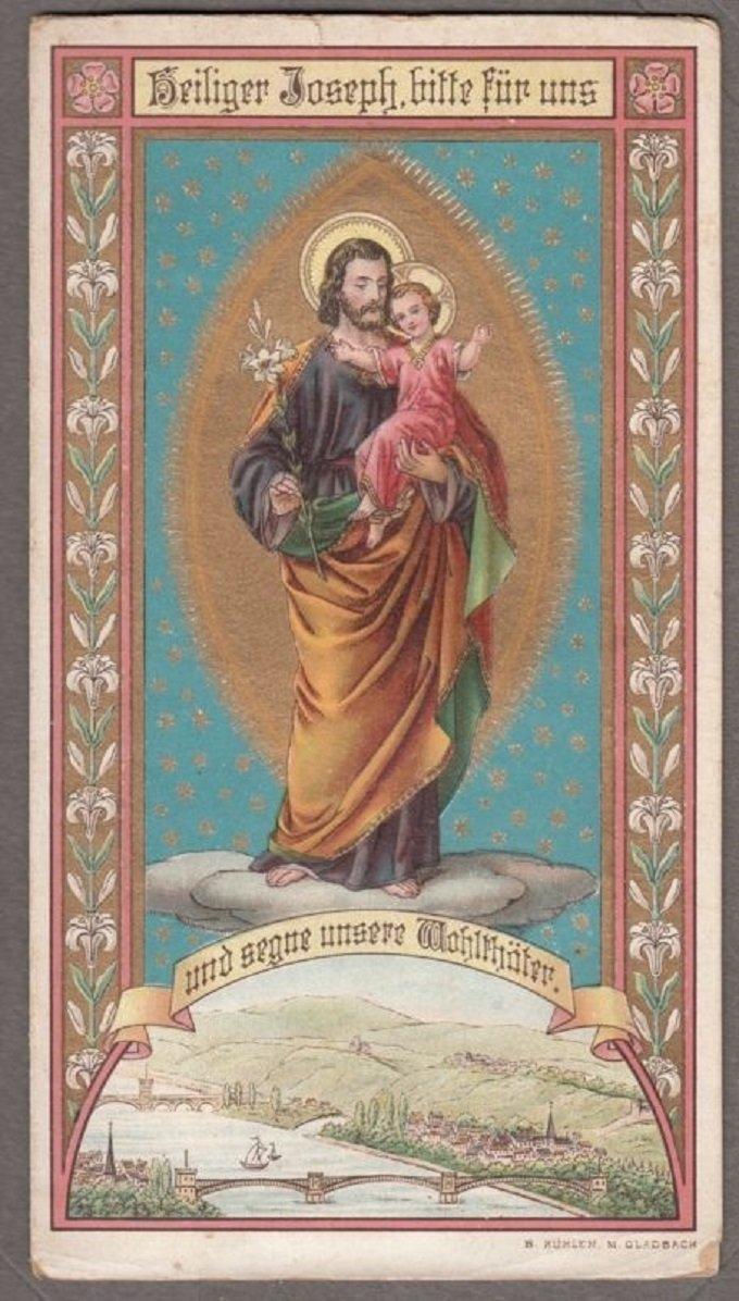 Saint Joseph, priez pour nos enfants