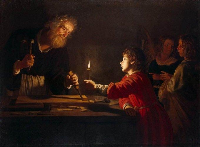 Saint Joseph, soutien puissant de l'Eglise, priez pour nous