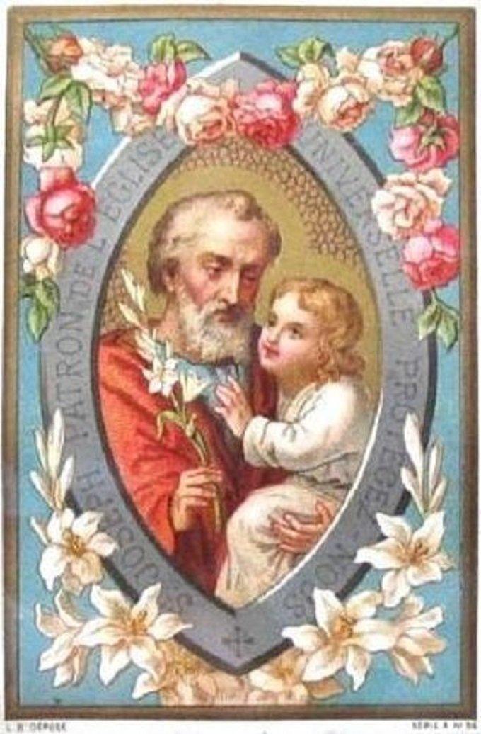 Saint Joseph, très courageux, priez pour nous