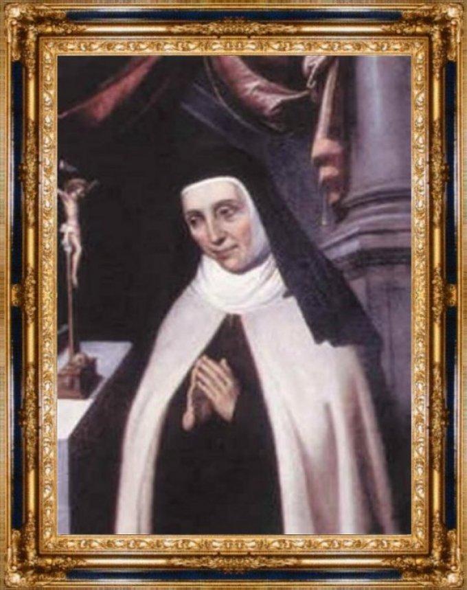 Bienheureuse Anne de Saint-Barthélémy