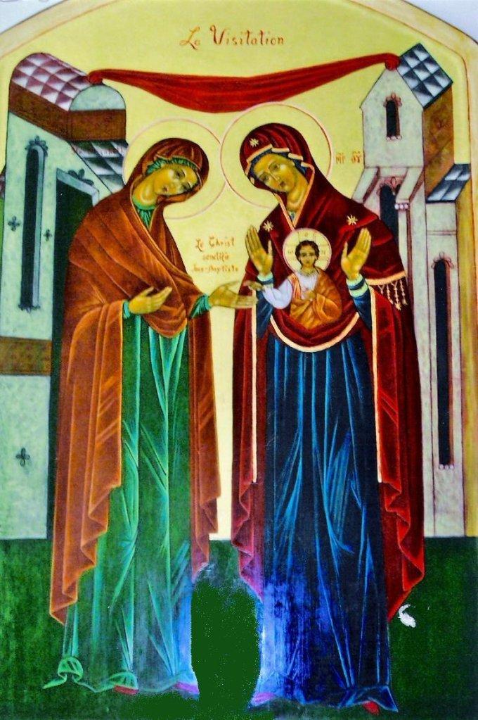 9e jour de la neuvaine - Bonne fête de la Visitation!