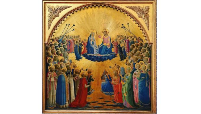 ''Bien au-dessus de tous les Anges et de tous les Saints''