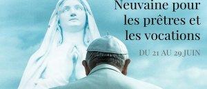 Neuvaine de prière pour les prêtres et les vocations