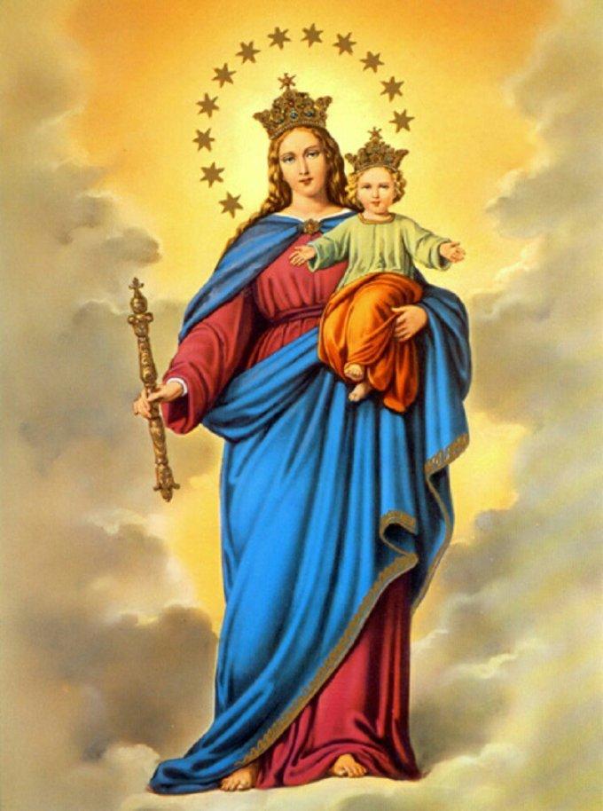 DÍA NOVENO: El Auxilio de la Santísima Virgen María