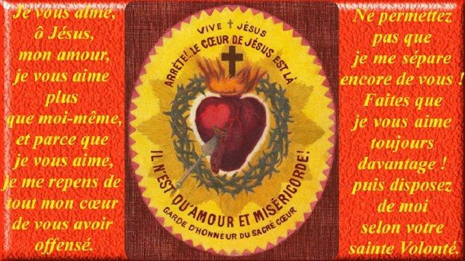Neuv. à N-Dame aux Sept Saints - J 7 - Amende honorable au Sacré-Cœur