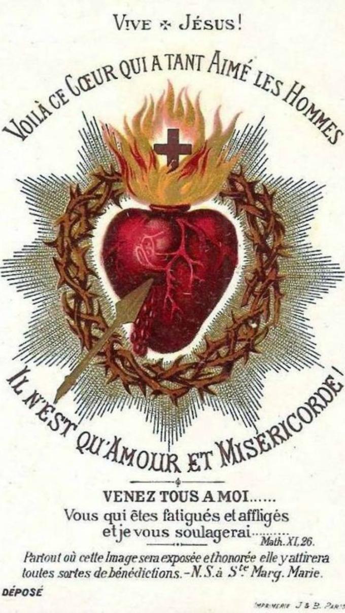 ♥️Dans le Sacré-Coeur de Jésus avec Amparo Alonso.