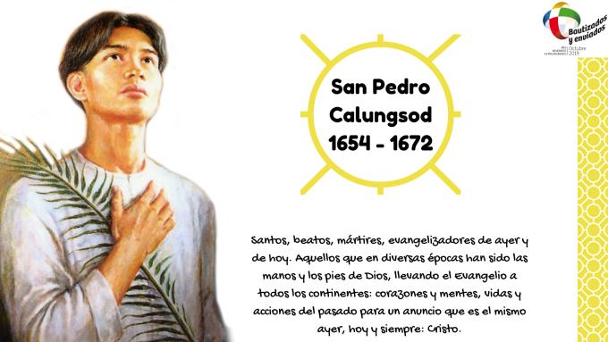 Testimonio misionero de San Pedro Calungsod
