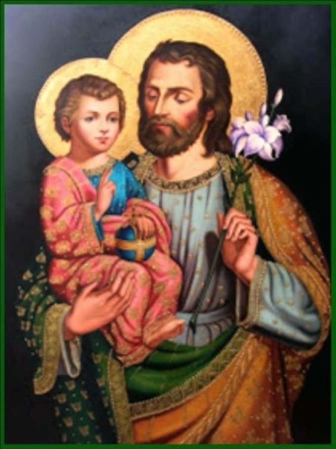 Saint Joseph, most faithful nourisher of Jesus Christ (June 24th)
