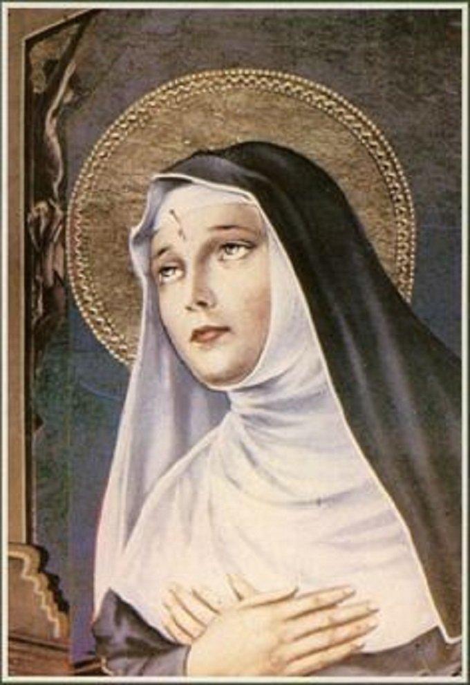 Sainte Rita, priez pour nous étudiants en période d'examens