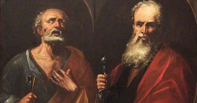 San Pedro y San Pablo, rueguen por nosotros