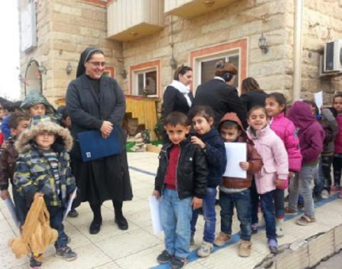 Prions pour la congrégation chaldéenne des Filles du Sacré-Cœur de Jésus