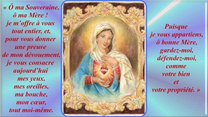fête du Coeur Immaculé de Marie